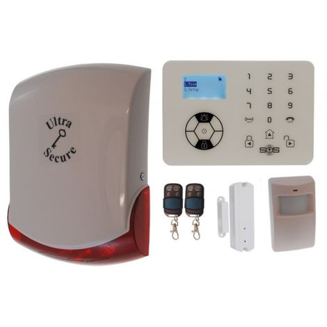 KP9 'Bells Only' Wireless DIY Burglar Alarm Kit A Pro [005-4340]