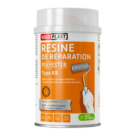 KR Soloplast resin 1 KG with hardener