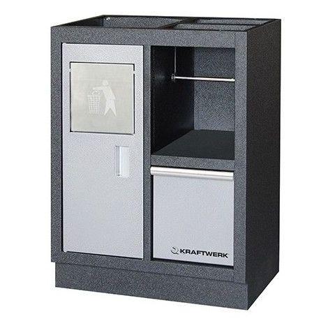 KRA3964-11. Meuble bas pour poubelle/rouleau essuie-tout Kraftwerk 537.75