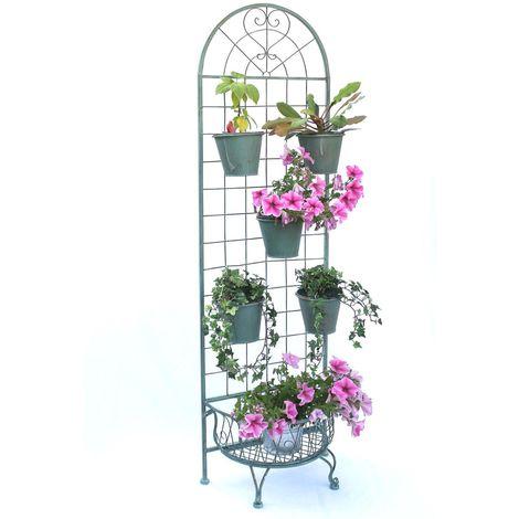 Kräuterregal Blumentreppe 172 cm Blumenregal 110292 Blumenständer Pflanzenständer