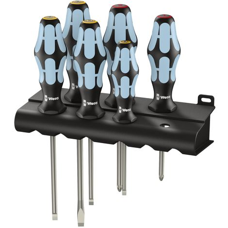 Kraftform Plus Stainless Steel Screwdriver Set, 6 Piece SL/PH