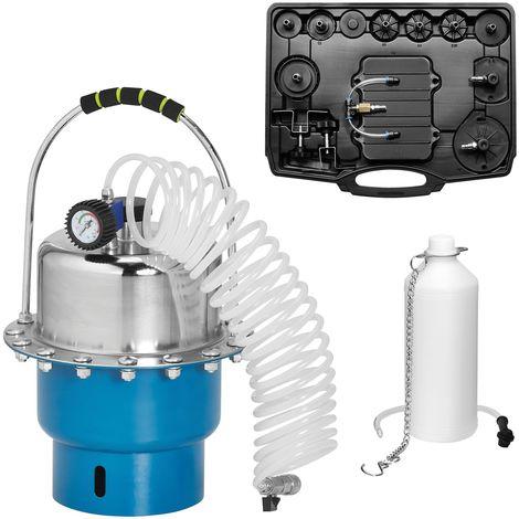 KRAFTPLUS® K.211-7007 Purgeur de frein à air comprimé 5L - Kit de purge 15 pièces