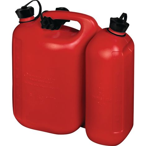 Kraftstoffkanister Doppelkanister H. 312mm B. 145mm L. 316mm Inhalt 5,5+3,0l