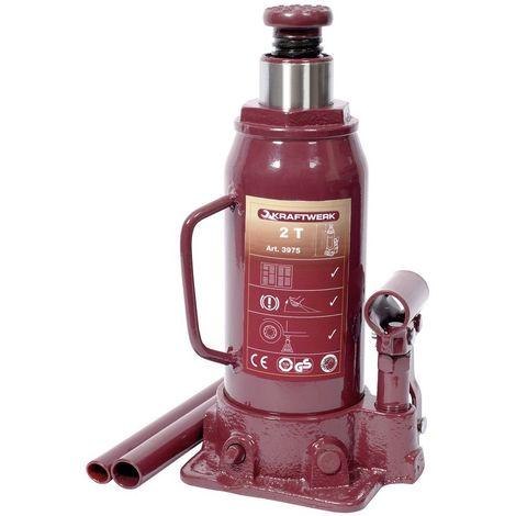 KRAFTWERK 3975 - Gato hidraulico de botella 2 t