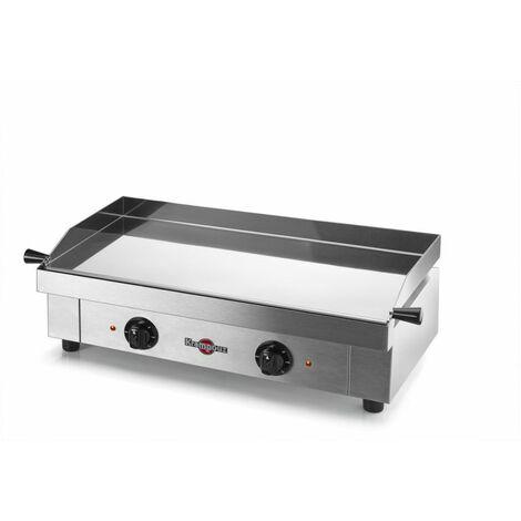 Krampouz - gecif2ao - Plancha électrique inox 2x1600w 64x34cm SAVEUR