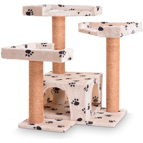 Kratzbaum Klein Katzenbaum Katzenkratzbaum Spielbaum Kletterbaum Möbel für Katzen in diversen Farben