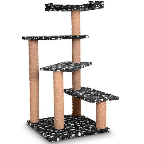 Kratzbaum Kletterbaum Katzen 100 cm Farbwahl Hoch