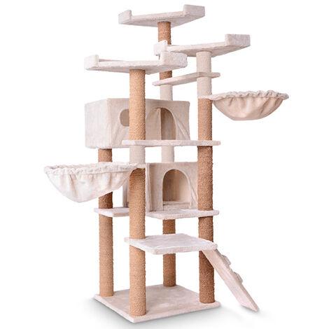 Kratzbaum XXL Katzenkratzbaum Spielbaum Hoch 160 cm verschiedene Farben Katzen