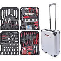 Kreator 253pc Trolley Tool Box Set KRT951011
