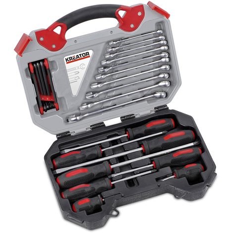 Kreator 26pc Wrench & Screwdriver Set KRT951000
