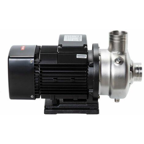 Kreiselpumpe Wasserpumpe 1,5KW 39000 l/Std. 230V Jetpumpe Gartenpumpe Edelstahl