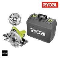 Kreissäge RYOBI 1400W 66mm - 1 Klinge 24 Zähne - 1 schachtel RCS1400 K2B
