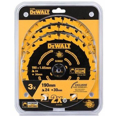 Kreissägeblätter 3-er Pack DeWalt DT10399