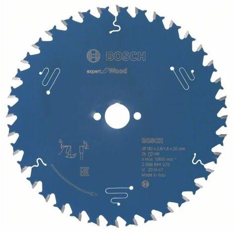 Kreissägeblatt Expert for Wood. 165 x 20 x 2.6 mm.48 Zähne