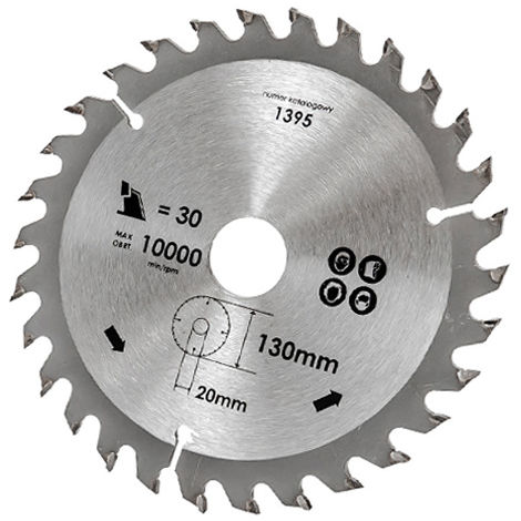 Kreissägeblatt Hartmetal Ø 130 - 350 mm TCT