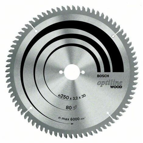 Kreissägeblatt Optiline Wood für Kapp- und Gehrung