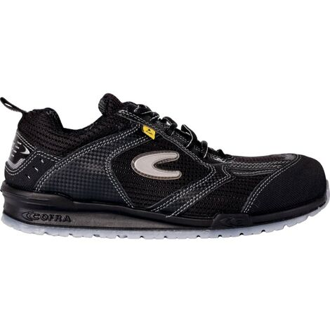 Kress S1P ESD Black Safety Trainers