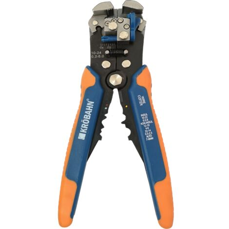 """main image of """"KROBAHN 8 INCHES AUTOMATIC WIRE STRIPPER, KB-PLAS0008"""""""