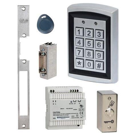 KRR1 Kit de contrôle d'accès YAKA avec gâche à émission de courant SEWOSY 12V - SEWOSY