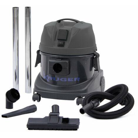 KRÜGER KRA1215SIL - Aspirador de polvo 220/240 V 1.200 W 15 L (Silencioso)