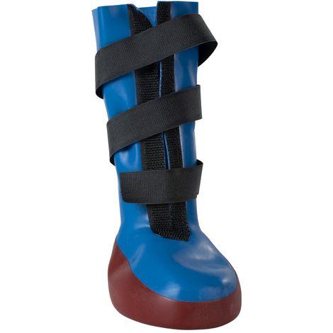 Kruuse Buster Protective Waterproof Dog Paw Boot (Medium) (Blue)