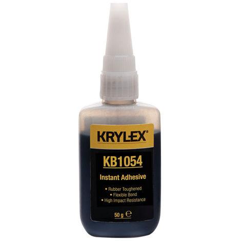 KRYLEX® KB1054 Instant Adhesive - Rubber Toughened - Black - 50g