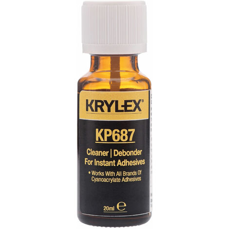 KRYLEX® KP687 Debonder & Clean Up Solvent - 20ml