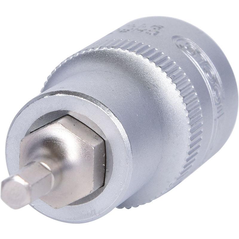 "7mm KS Tools 1//2/"" CHROMEplus Bit-Stecknuss Innensechskant kurz"