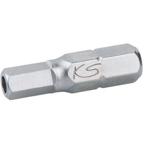 KS Tools Innensechskant-Winkelstiftschlüssel phosphatiert lang 7//64/'/'
