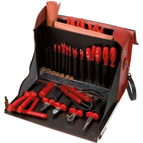 KS TOOLS 117.1830 Sacoche d'outils d'électricien isolés 1000V - 36 pcs 1533.04