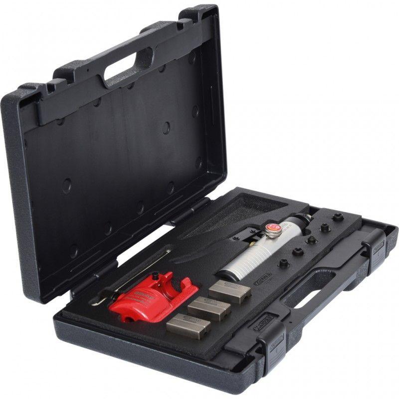 KS Tools 122.1260 Appareil /à collets pour conduits de freinage avec v/érin hydraulique