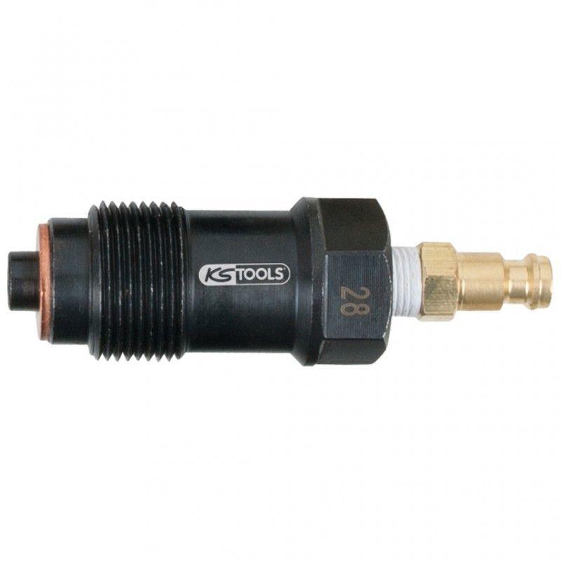 KS TOOLS 150.3684 Adaptateur pour injecteurs, M24x1,5, longueur 80 mm