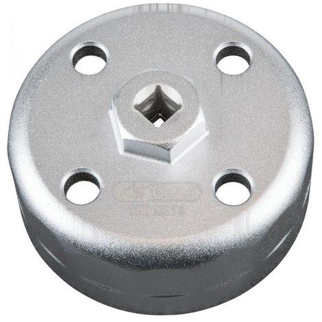 KS TOOLS 150.9213 Cloche filtre à huile 3/8 88,8mm 15 pans du coffret 150.9210. 34.19