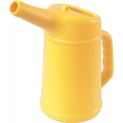 KS TOOLS 150.9234 Broc verseur d'huile avec bec flexible - 1 L