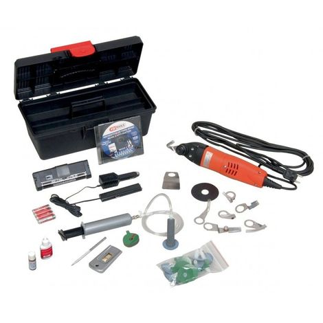 KS TOOLS 160.0240 Kit de réparation de pare-brise