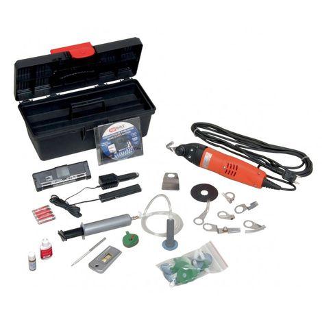 KS TOOLS 160.0242 Kit 24 réparations, pastilles + résine + accéssoires 339.31