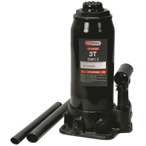 KS TOOLS 160.0351 Cric bouteille hydraulique capacité 3 tonnes