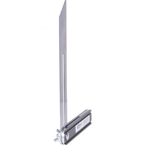 /Noir Silverline Tools 460001/biseau r/églable/