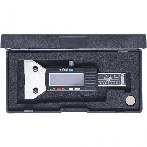0-25 Mm KS TOOLS 300.0550 Jauge de Profondeur Digitale