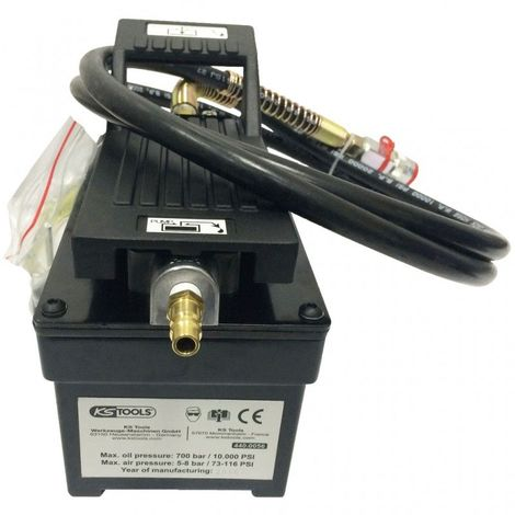 KS TOOLS 440.0055 Coffret de pompe hydraulique pneumatique