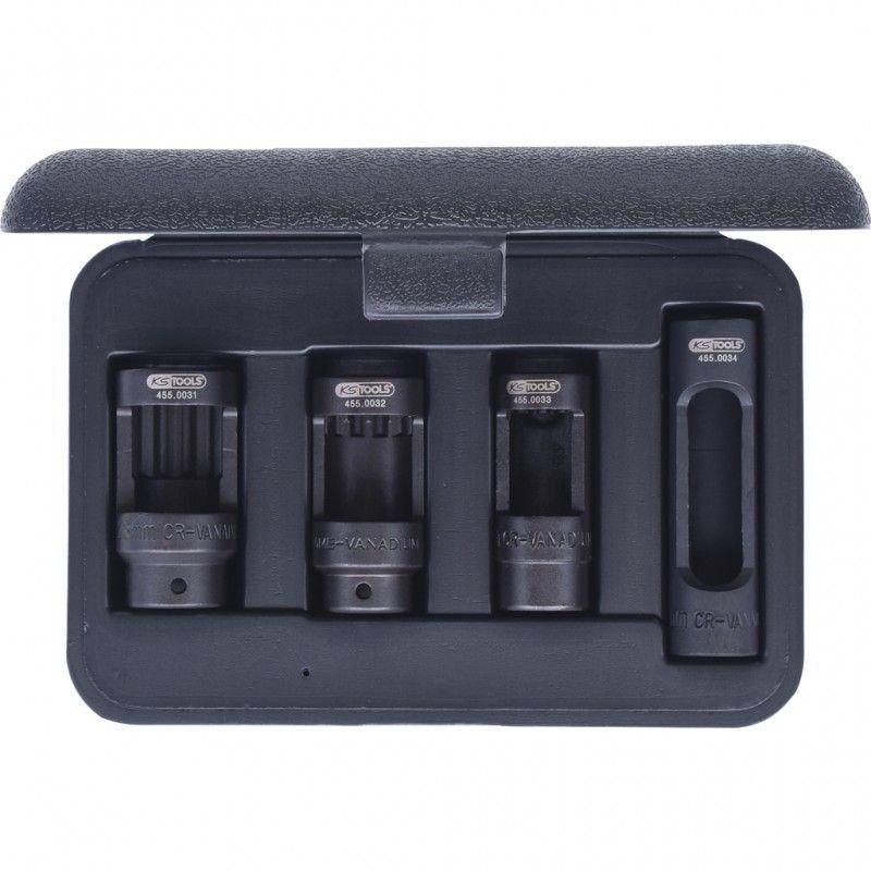 KS Tools 455.0030 Jeu de douilles dextraction pour Injecteurs