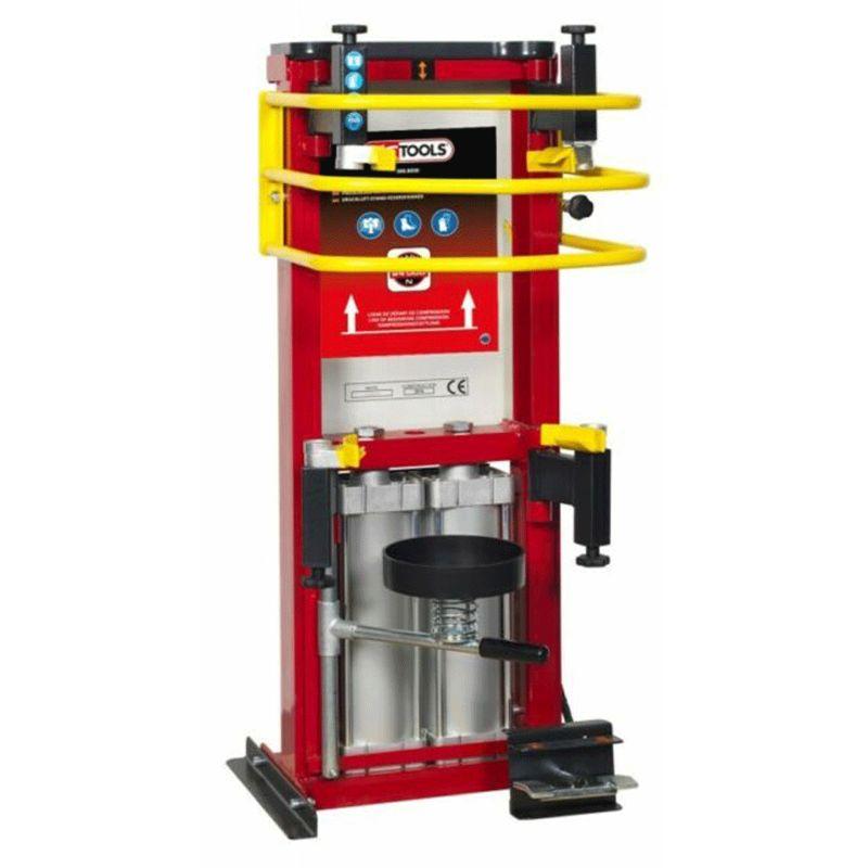 Kstools - Compresseur de ressort d'amortisseur - 2 vérins - 2,4 tonnes - (500.8950) - KS TOOLS