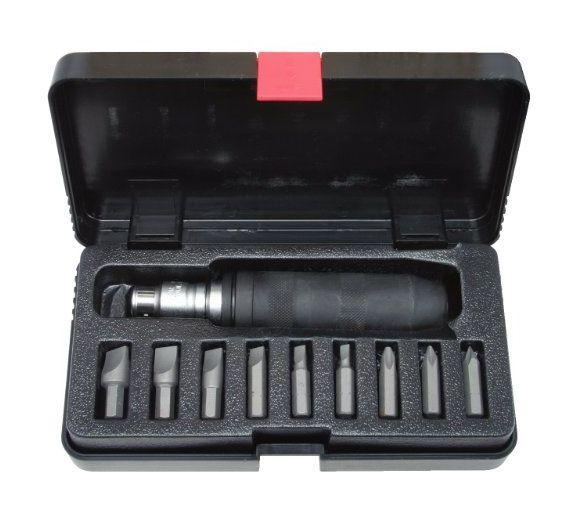 KS Tools 515.1003 Coffret de tournevis à frapper avec embouts 11 pièces
