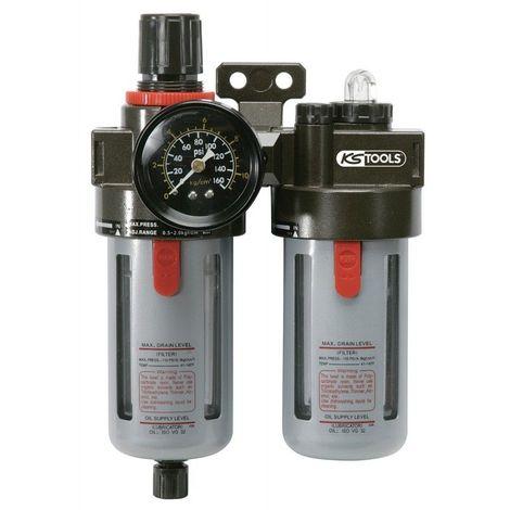 KS TOOLS 515.3350 Filtre-régulateur de pression lubrificateur 116.52
