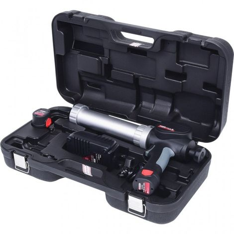 KS TOOLS 515.3571 Pistolet à cartouche 310ml avec 2 batteries Li-Ion 10,8V