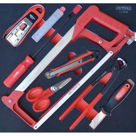 KS TOOLS 712.9009 Module d'outils de coupe, 9 pièces 131.0635514018691590145054904