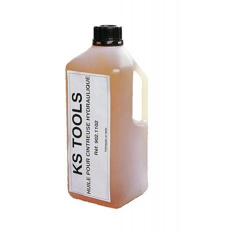 KS TOOLS 902.1102 Huile pour cintreuse hydraulique, 2 litres