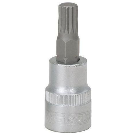 "KS Tools 911.3920 Douille tournevis - 3/8"" - XZN M10 - L.48 mm CHROMEmat"