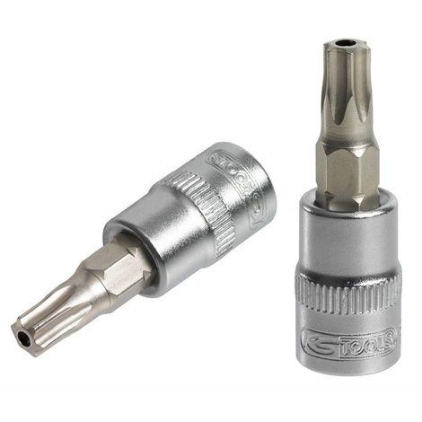 KS Tools 911.1554 Douille tournevis 3//8 Torx T30 Longueur 100 mm