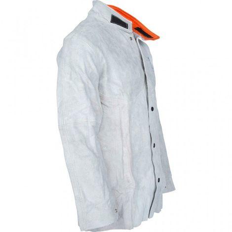 KS TOOLS 985.7001 Veste de soudeur taille XL XL - blanc